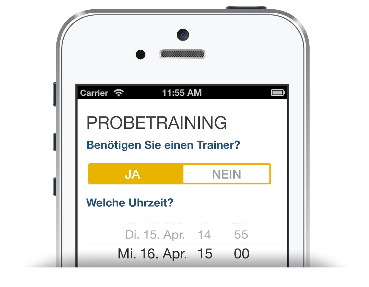 Screens Apps probetraining